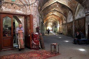 Tabriz Historic Bazaar Complex Iran Bazaar