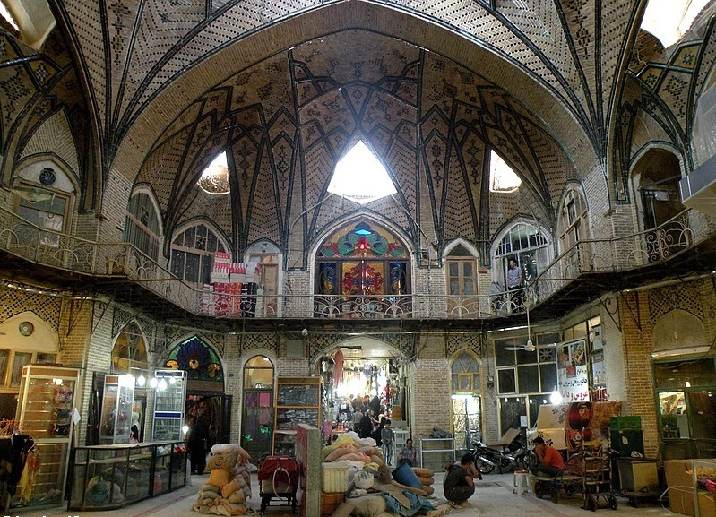 bazaar - Tehran's Grand Bazaar