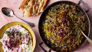 saffron - Herb Rice With Green Garlic , Saffron , And Crispy Shallots  - Blog
