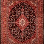 Kashan carpet persian carpet - Persian Carpet / Rug