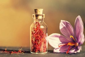 saffron - Historical uses of saffron: middle east