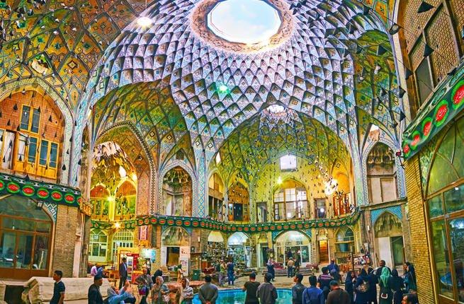iran bazaar saffron - home 2